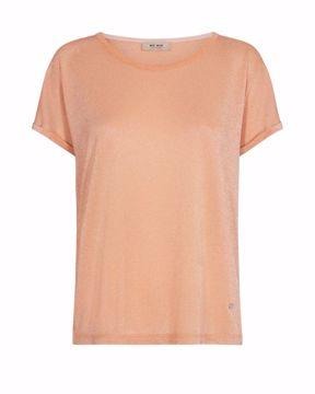 Mos Mosh T-shirt Kay Peach Cobber