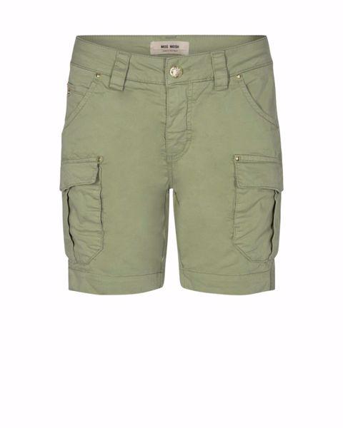 Mos Mosh Shorts Cheryl Cargo Oil Green