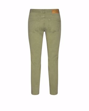 Mos Mosh Bukser Sumner Air Cropped Oil Green