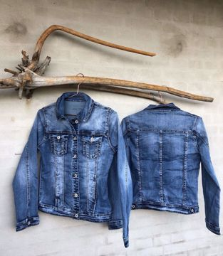 Cabana Living Cowboy Jakke Jeans Blå