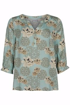 Infront Bluse Rico 3/4 Sleeves Mint
