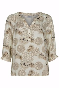 Infront Bluse Rico 3/4 Sleeves Eggshell