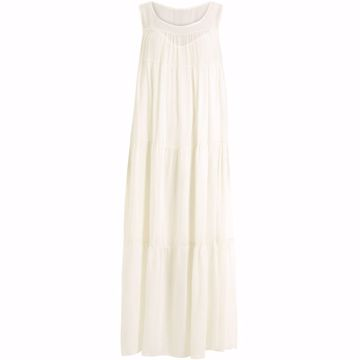 Coster Copenhagen Long Sleeveless Dress Off White