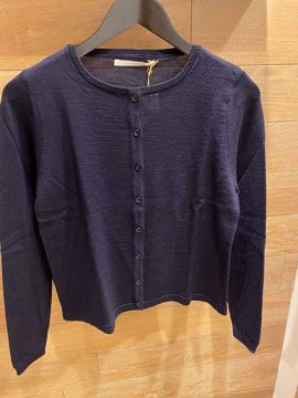Sibinlinnebjerg Cardigan Honey Navy