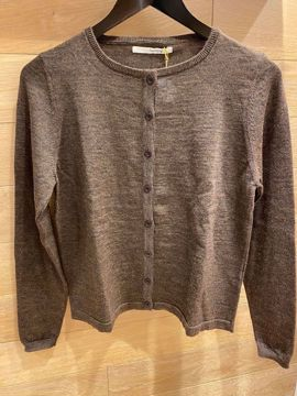 Sibinlinnebjerg Cardigan Honey Brown