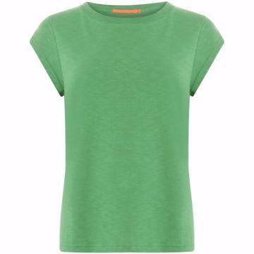 Coster Copenhagen Basis Tee O Neck Emerald Green