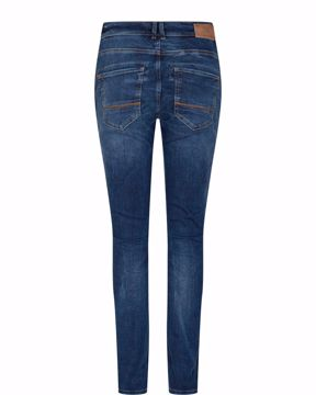 Mos Mosh Jeans Etta Leather Blue