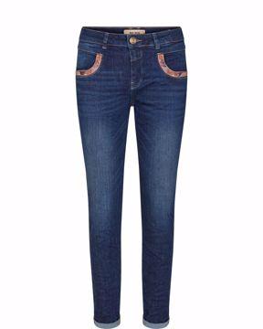 Mos Mosh Jeans Naomi Jewel Blue