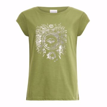 Coster Copenhagen T-shirt W- Tarot Forest Green
