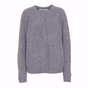 Costa Mani Pullover Beth Basic Melange Grey