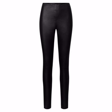 Depeche Læder Leggings Black