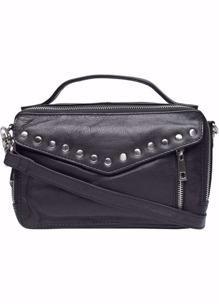 Tim & Simonsen Christiane Stud Bag Black