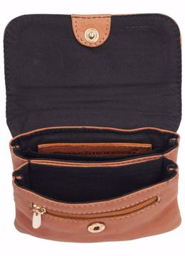 Tim & Simonsen Medina Purse Cognac Gold