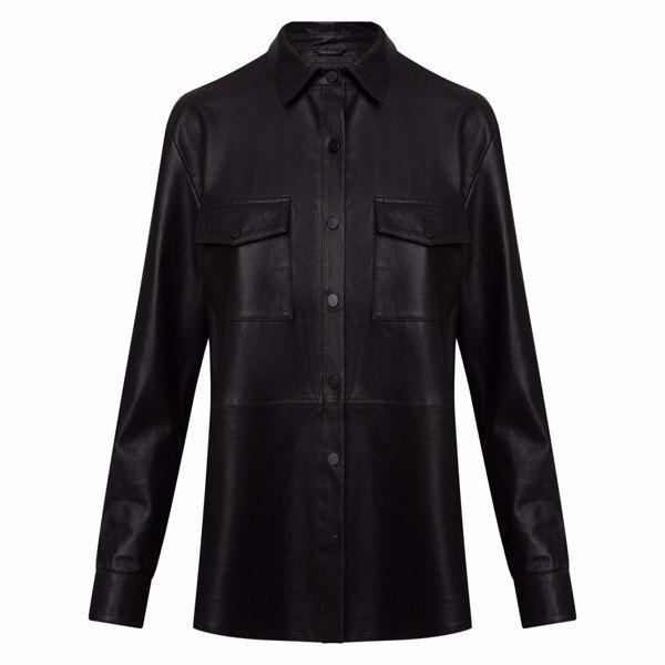 Depeche Skind Skjorte W. Buttons Black