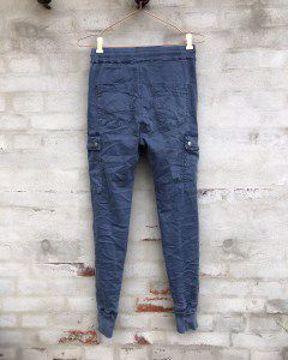 Cabana Living Bukser Nina Dark Blue Jeans