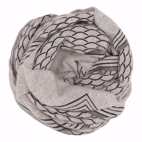 Gauge & Ply Tørklæde Gaia Grey