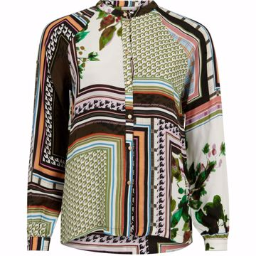 Coster Copenhagen Bluse W. Buttons Frame Print