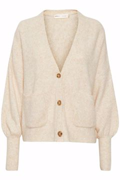 In Wear Cardigan Ino Powder Beige