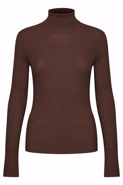 In Wear Pullover Siv Coffee Brown