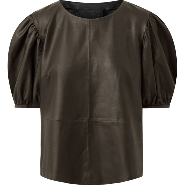 Depeche Skind Bluse Dusty Taupe
