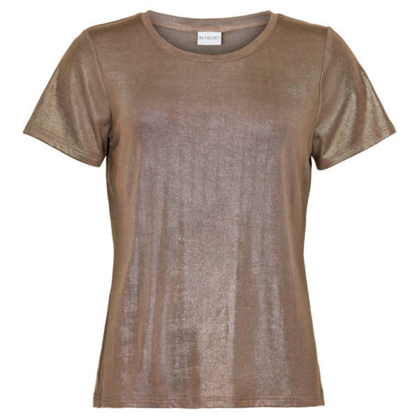 In Front T-shirt Khaiti Gold