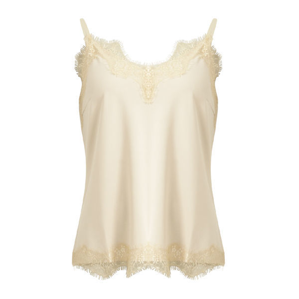CC Heart Top Lace Nude