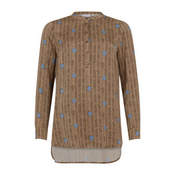Coster Copenhagen Shirt Blouse In Sprout Print