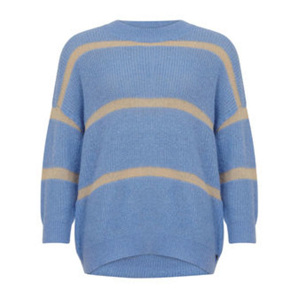 Coster Copenhagen Sweater In Alpaca With Stripe