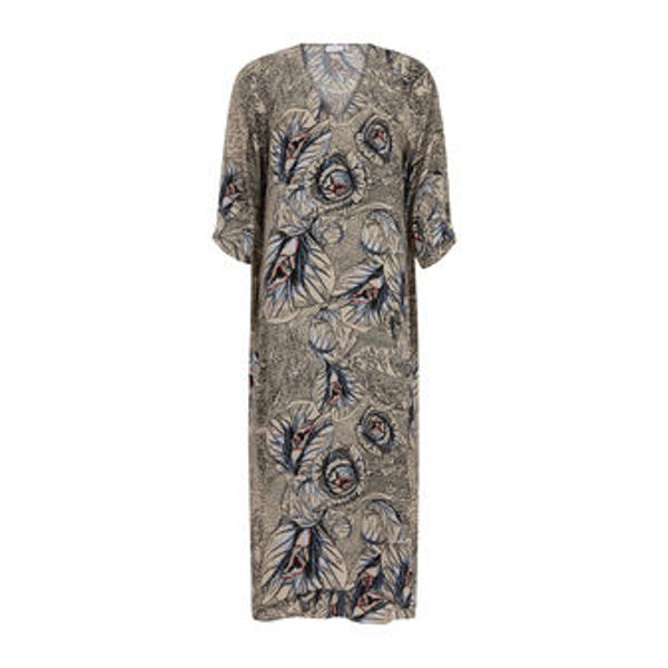 Coster Copenhagen Dress In Garden Print - EcoVero