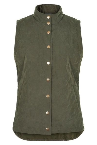 In Front Vest Karli Quilt Army
