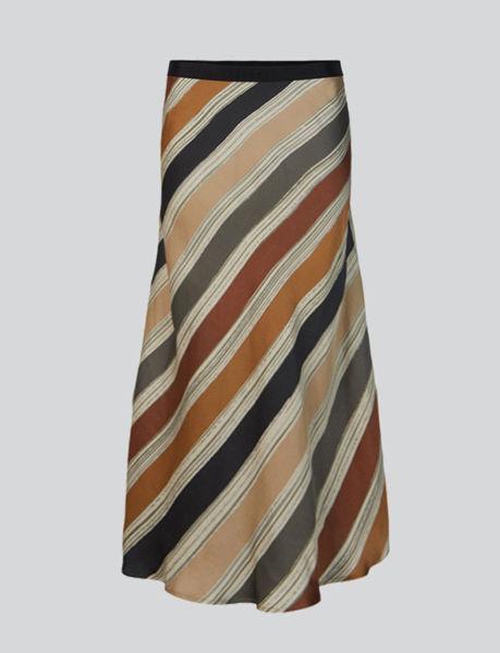 Summum Skirt Printed Stripe