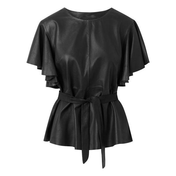 Depeche Skind Bluse Black