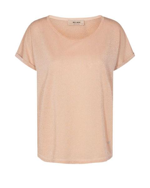 Mos Mosh T-shirt Kay Peach Parfait