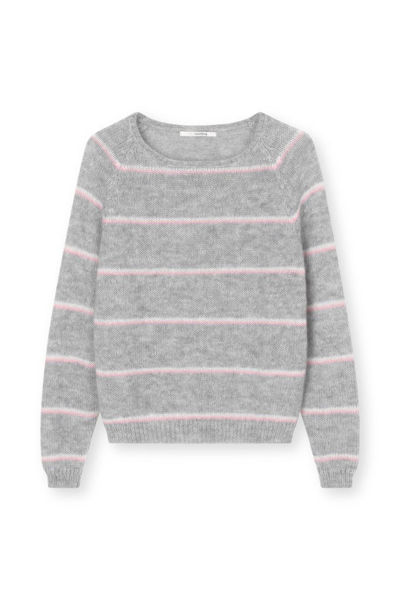 Sibinlinnebjerg Strik Jayda Sweat Grey