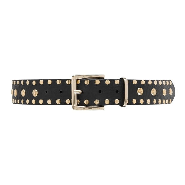 Depeche Jeans Belt Black Gold