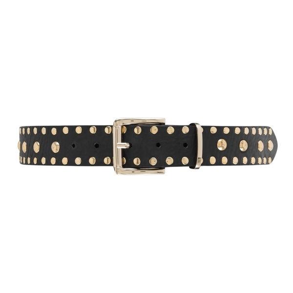Depeche Jeans Belt Black Gold
