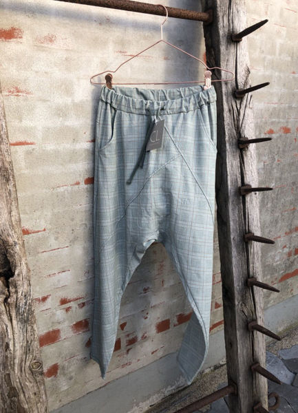 Cabana Living Baggy Pant Check Militare