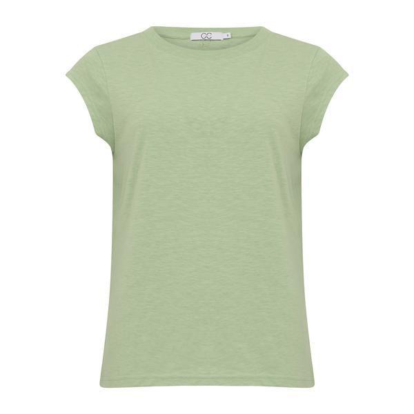 CC Heart T-shirt O Neck Pistaccio