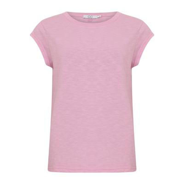 CC Heart T-shirt O Neck Orchid Pink