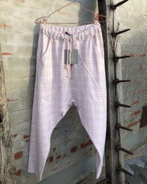 Cabana Living Baggy Pant Check Rose
