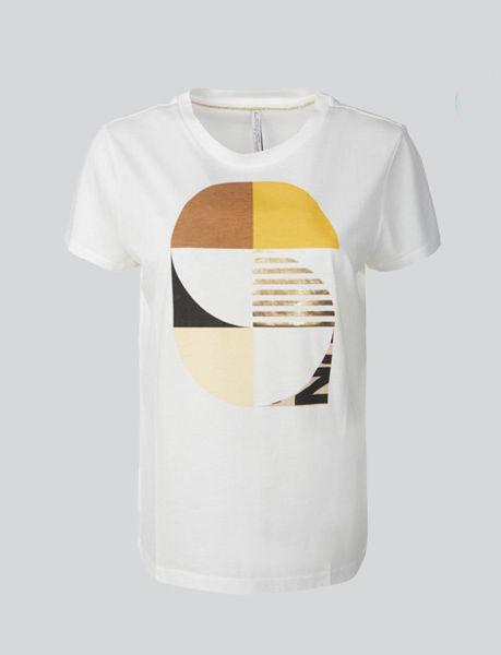 Summum T-shirt Graphic Artwork Bright Ochre