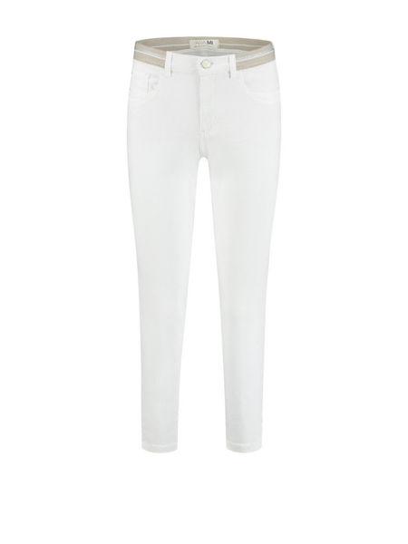Para Mi Bukser Capri Elastic White
