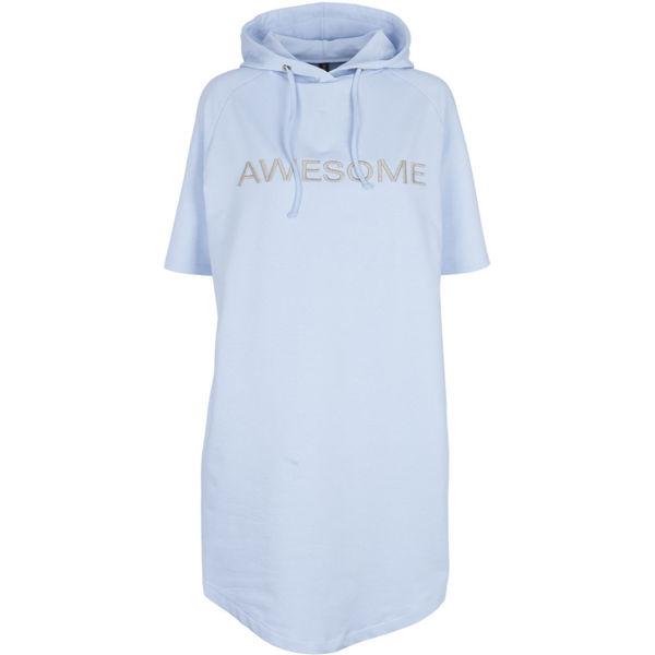 Prepair Sweat Kjole Ava Light Blue