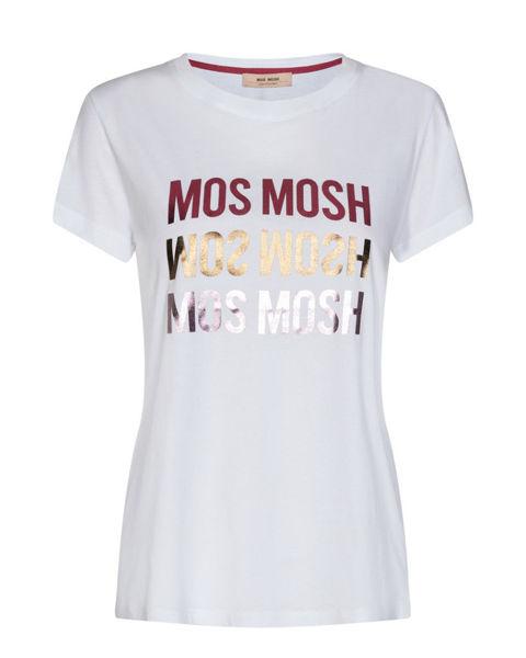 Mos Mosh T-shirt Mavis O-Neck White