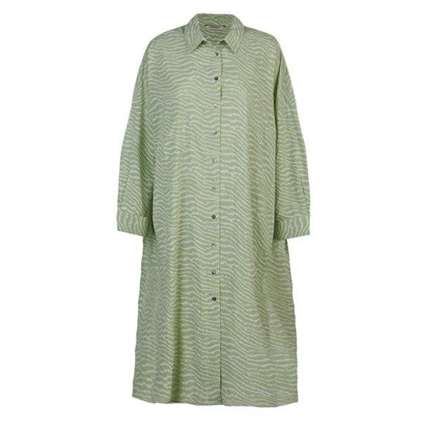 Summum Kjole Voile Soft Green Tea