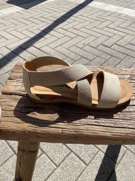 Bionatura Sandaler Scamosciato Beige