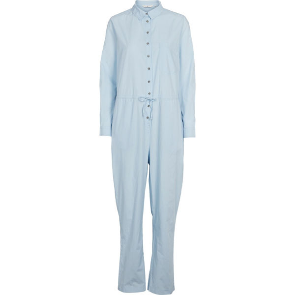 Basic Apparel Buksedragt Vilde Cashmere Blue