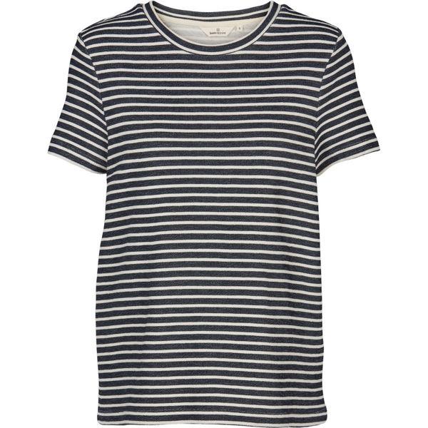 Basic Apparel Bluse Vandela Navy/Off
