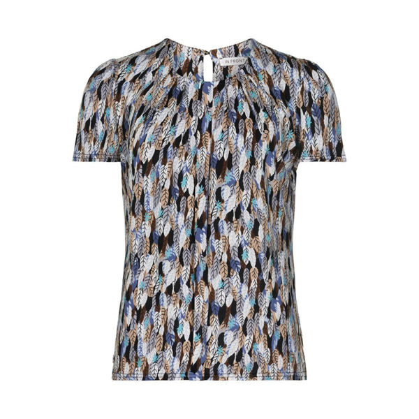 Infront Bluse Marcia Blue