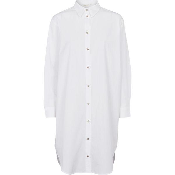 Basic Apparel Skjorte Vilde Loose Bright White